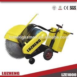 Concrete road cutter machine