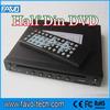 Super Slim DC 12V Car In-dash Half Din DVD Player with IR external receiver