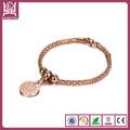 Glamour cz. micro perles ouvrir 18k bracelet en plaqué or bijoux de mode fb028
