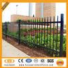 Wholesale aluminum black coated decorative metal garden fence