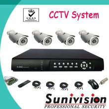 Sunivision fabricante! Alta definición 4CH DVR Kit