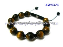 New products Popular best price pink crystal ball woven shamballa bracelet