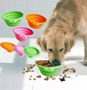 Protable Unbreakable Pet bowl/dog basin made of silicone gel