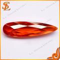 Guangxi China de calidad superior del precio de fábrica brillante corte de la piedra preciosa de pera de lujo / japan edition 2TU piedra de la CZ