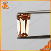 China manufacturer brilliant cut grade AAA loose gemstone trapezoid CZ gems