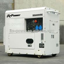 ITCPower DG6000SE 5kW small sient diesel dynamo green power generator single cylinder generator