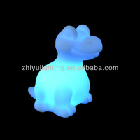 Mini led light with button batteries,Most popular dinosaur Baby Night Light
