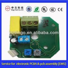 LED dimmer pcb assembly. Led lighting dimmer PCBA