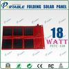 18w 1000mAH solar charger bag solar laptop charger bag