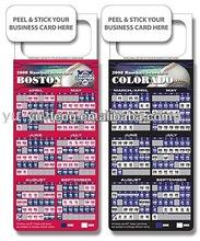 Schedule Magnet 2014