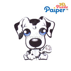 Paiper happy dog model puzzle kids diy craft kit