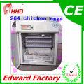 certificado do ce 264 ovos automática incubadora industrial para frangos