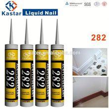 100% water based,flexible acrylic sealer mildew&moisture resistant