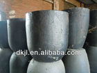 High strength Silicon carbide and graphite Crucibles for copp