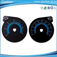 Waterproof Polycarbonate 2D Digital Automotive Instrument Cluster Auto Meter