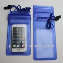 pvc waterproof bag for phone