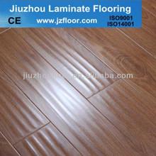 HDF U groove Distress12MM HDF Flooring laminated