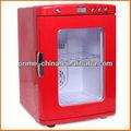 25l carro mini refrigerador com porta de vidro