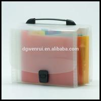 Promotional documents case file box expanding file bag