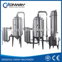 WZD high efficient Dual-effect automatic vacuum water distiller