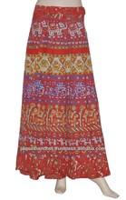 Kadın giyim bağcıklı etek, bayanlar uzun etek giymek, kızlar etek giymek moda sarong