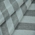 "60"" wide jersey knit lurex stripe tr yarn dyed fabric"