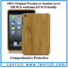 LPC5803 For ipad mini original wooden cover and bamboo case for ipad mini Original wood case cover