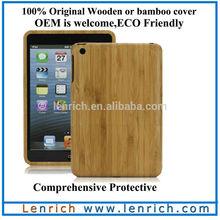 LPC5803 For ipad mini original wooden cover and bamboo case for ipad mini Original wood case cover