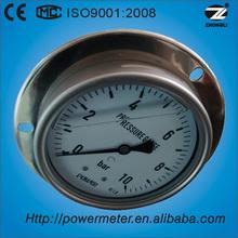 ( ybf- 100bd) 100mm alle ss flüssigkeit manometer zeiger meter