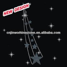 Moon Rhinestone Transfer Wholesale Stars Iron ons Clothing Embellishment T 1 (22