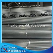 3/4 inch Galvanized Steel Pipe-1-3mm Thick (SCH10/SCH30/STD/SCH40)-S235JR/Q235/Q345/SS400-for Fluid/Structure
