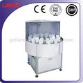 Semi- automática lm lavadora de garrafas em aço inoxidável