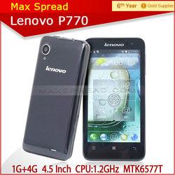 lenovo p770 1gb ram 4gb rom lenovo dual sim long standby time mobile phone