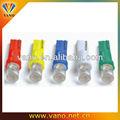 Superficie cóncava 5 mm luz LED del tablero de instrumentos T-5 azul / rojo / amarillo / blanco / verde bombilla