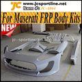 De alta calidad de frp carrosserie kit, el cuerpo kits de coche auto kit de carrocería del coche con las defensas para 11~12 maserati