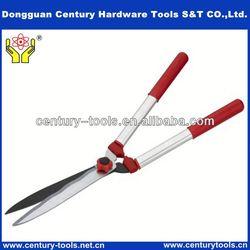 Long handle garden tools secateurs