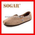 de la marca 2014 alpargata zapatos de lona para las mujeres casual
