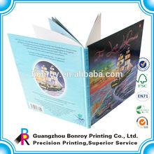 Cheap Hardcover children custom coloring book printing wholesale