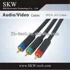 3 RCA to 3RCA cable VGA RCA
