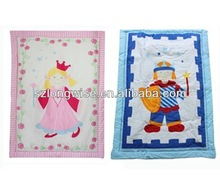 2013 new style colorful cute baby blanket stocklots AV303 wholesale high quality baby quilt stocks