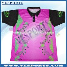 Custom uniforms bowling polo shirts