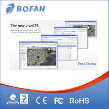 Web based gps car tracking software paltform with multi user management