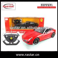 Rastar hot selling 1:14 Ferrari 599 GTO remote control model car