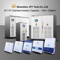 Grid-tied Solar Inverter 1.1KW-1260KW(TUV,VDE,SAA,G59/83,IEC,PEA,MEA,CE...)