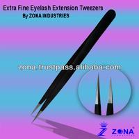Anti Static Stainless Steel Eyelash Extension Tweezers From Pakistan