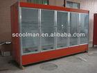 Supermarket Multi-desk Upright Display Chiller/Cooler