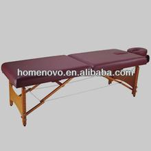 Simple Design Adjustable Full Body Salon Massage Bed, Day Spa