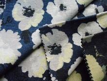 denim jacket with leopard print selvedge denim fabric