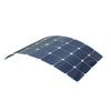 90W USA sun power cells semi flexible solar panel prices
