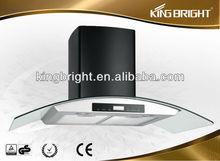 best design glass kitchen range fume hood BST-WTTS90-C02
